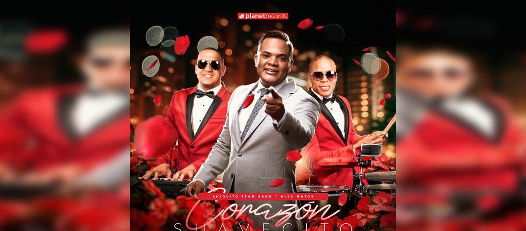 """Corazón suavecito"" junta a Chiquito Team Band y Alex Matos"
